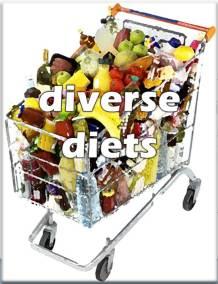 diverse diets